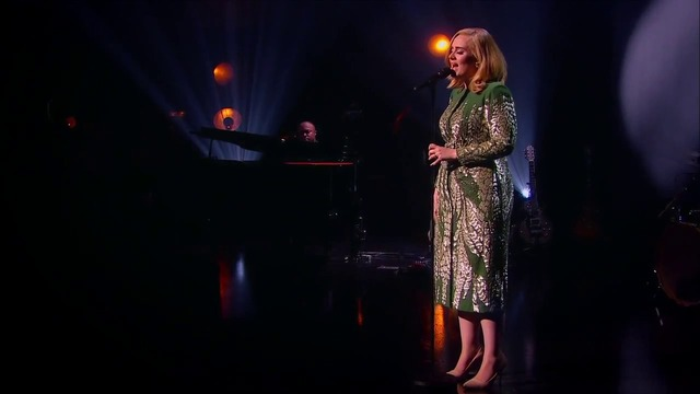 Adele - Someone Like You (Live At BBC 2015)