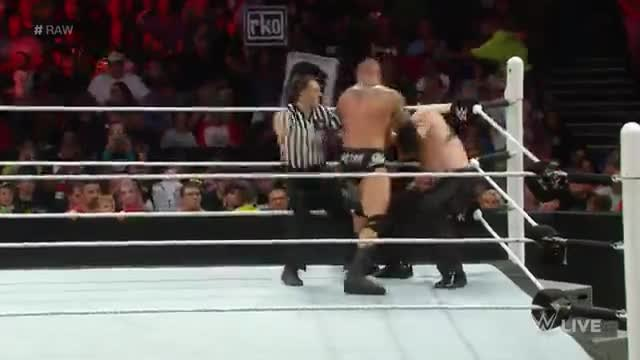 Randy Orton vs Kane - Wwe Raw 15062015